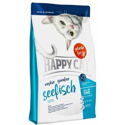 Happy Cat Sensitive Seefisch 4kg