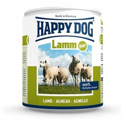 Happy Dog 100% jēra gaļa Happy Dog Dog food with 100% Lamb