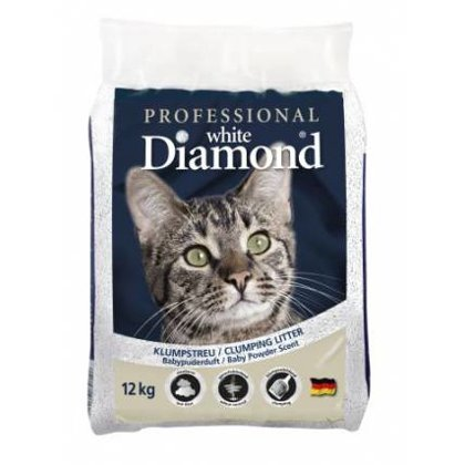 Kaķu smiltis Professional White Diamond (12kg)