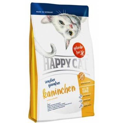 Happy Cat Sensitive Kaninchen kaķu barība