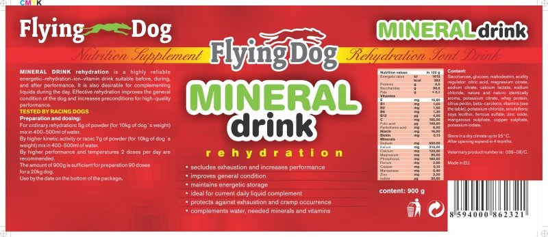 "Flying Dog ""Mineral Drink"" 900g"